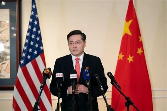 中国驻美大使秦刚抵美履新