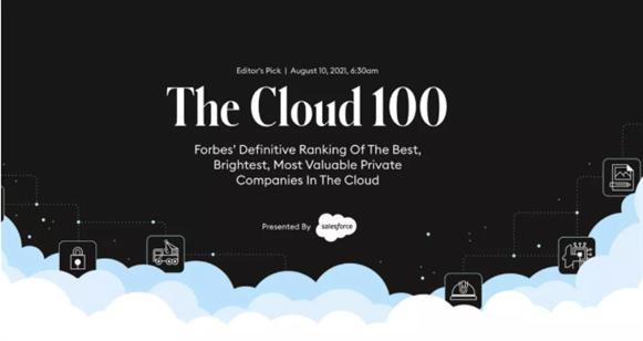 Airwallex空中云汇入选2021福布斯全球云计算企业100强!