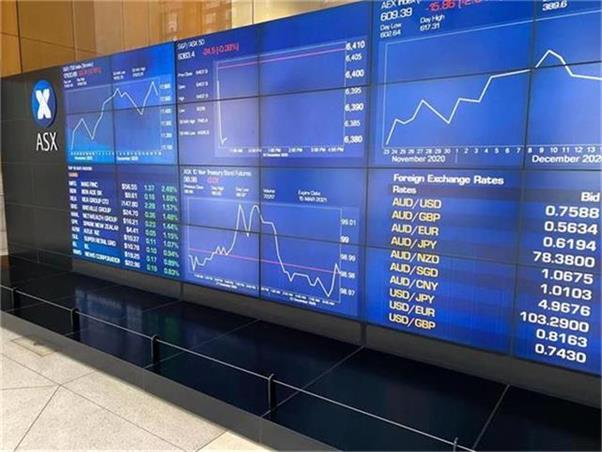 铁矿石价格重挫拖累澳指小幅收低  蓝筹和科技股上扬减轻跌幅